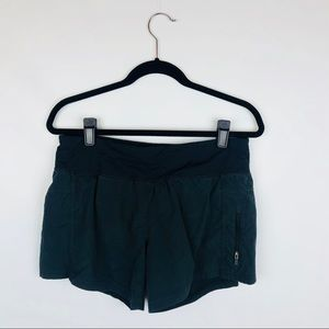 lululemon athletica black shorts